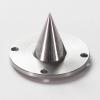 分析装置部品 素材:SUS304 工程:NC旋盤/3軸マシニング